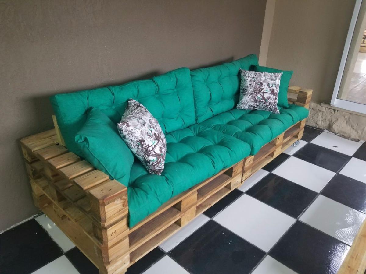 Sof pallet r 980 00 em mercado livre for Sofa palets ikea