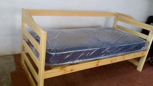 sofa para colchon individual