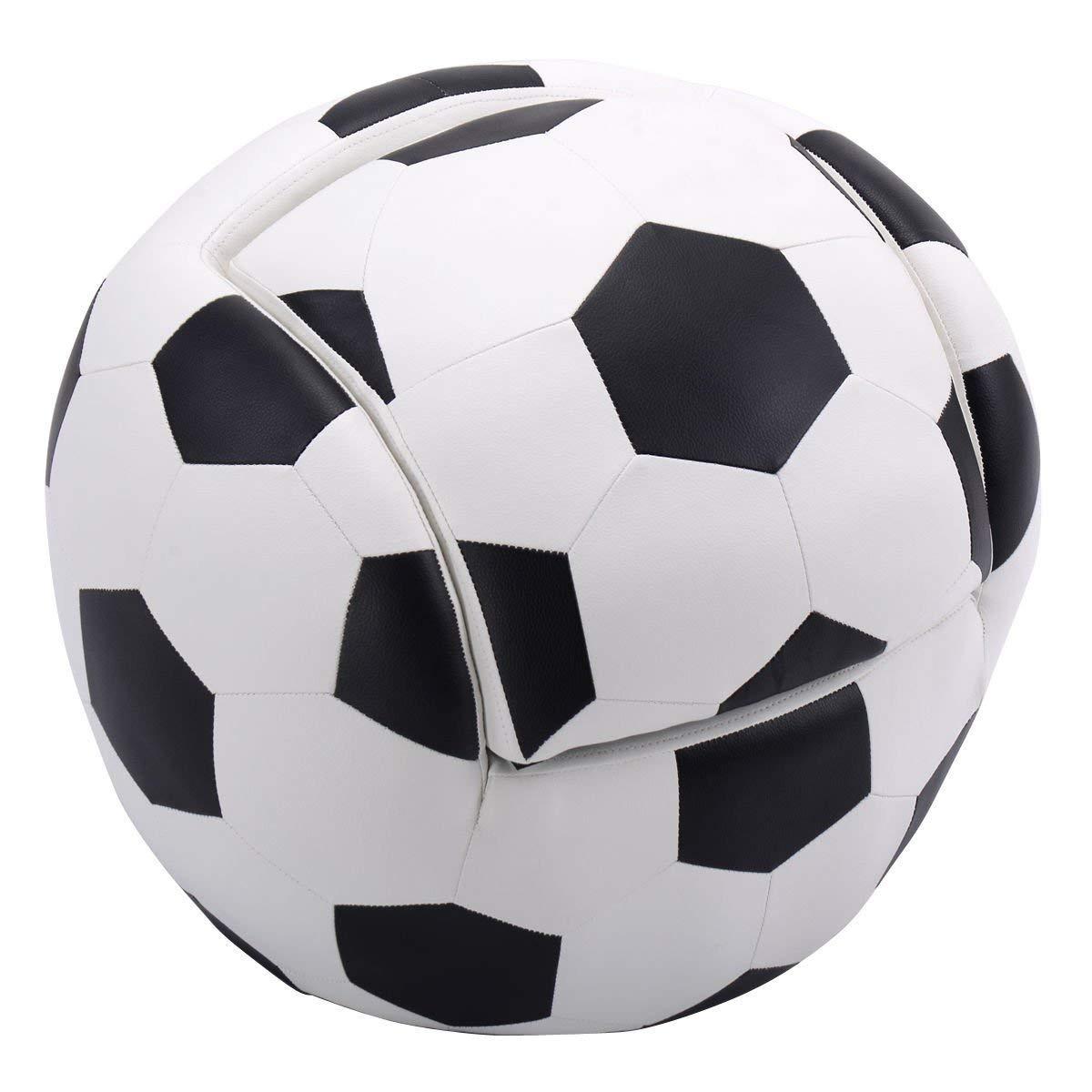 sofá para niños tipo balón de football soccer decoración. Cargando zoom. 2a984fc0a34f7