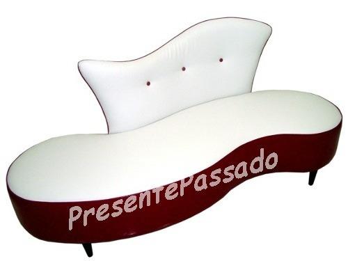 sofá pé palito - feijão