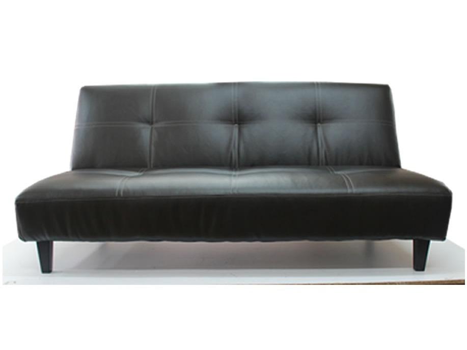 Sofa piel real futon sofacama nuevo sala sillon envio for Sofa actual