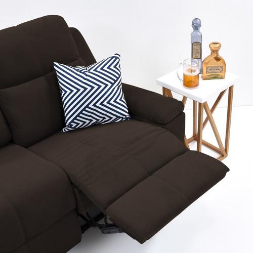 sofá reclinable 3p marsella tela