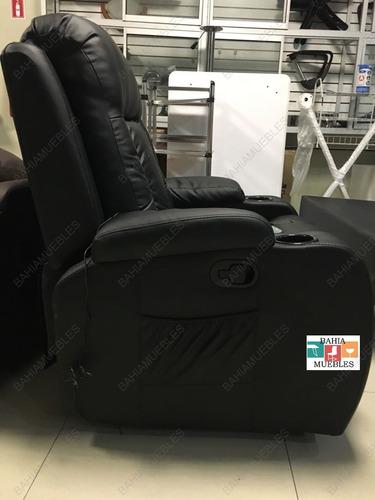 sofa reclinable masajeador con 8 puntos de vibración