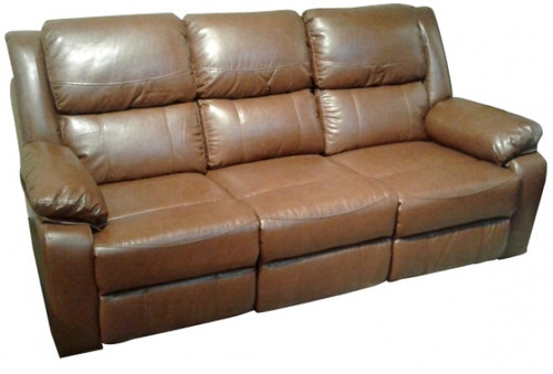 sofa reclinable philippe 3 cuerpos en pu soft
