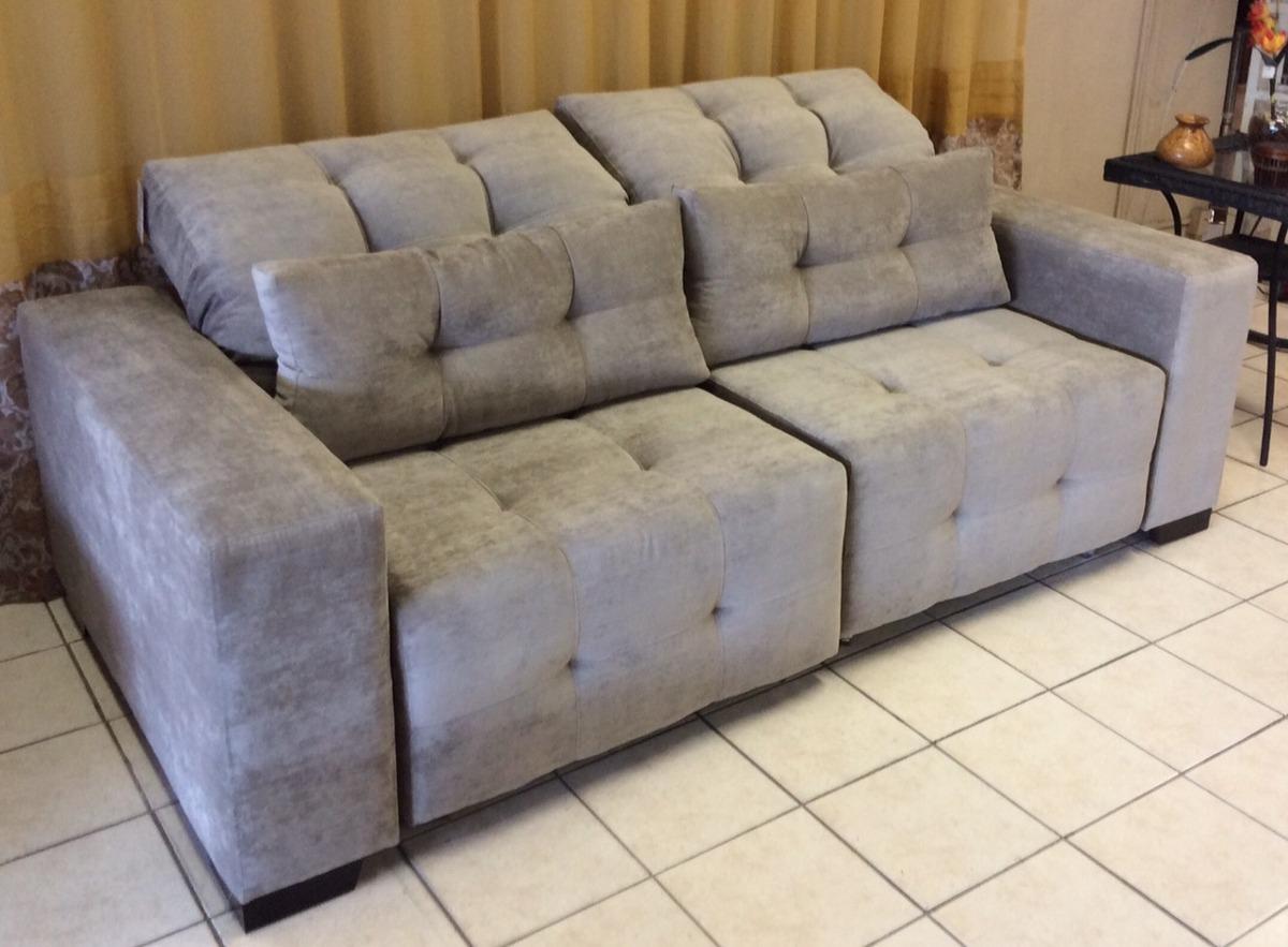 Sofa Retratil 2 Lug P 4 Pessoas Novo R Em