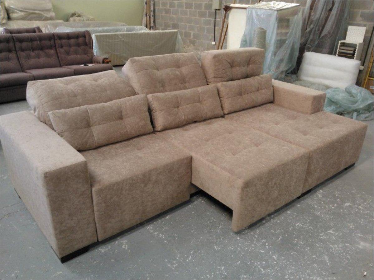 Sofa Retratil 3 Lug P 6 Pessoas Novo R$ 4 399,00 em Mercado Livre