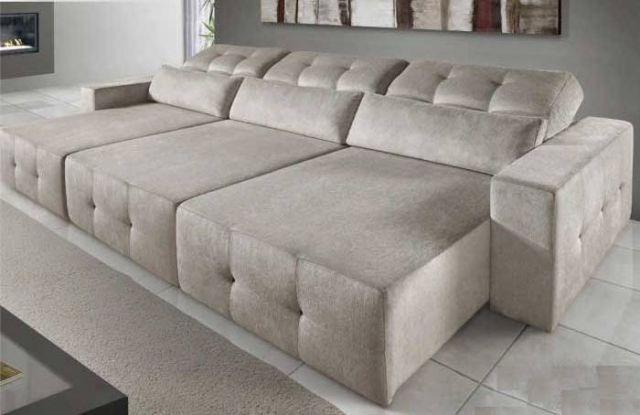 Sofa Retratil Catraca No Encosto Sob Medida R 4