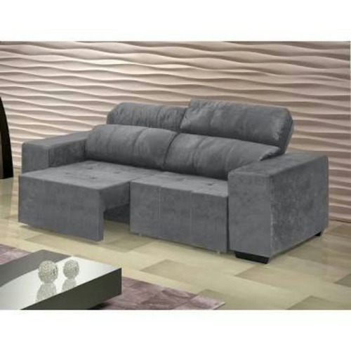 sofa retratil e reclianavel novo super barato r 799 00