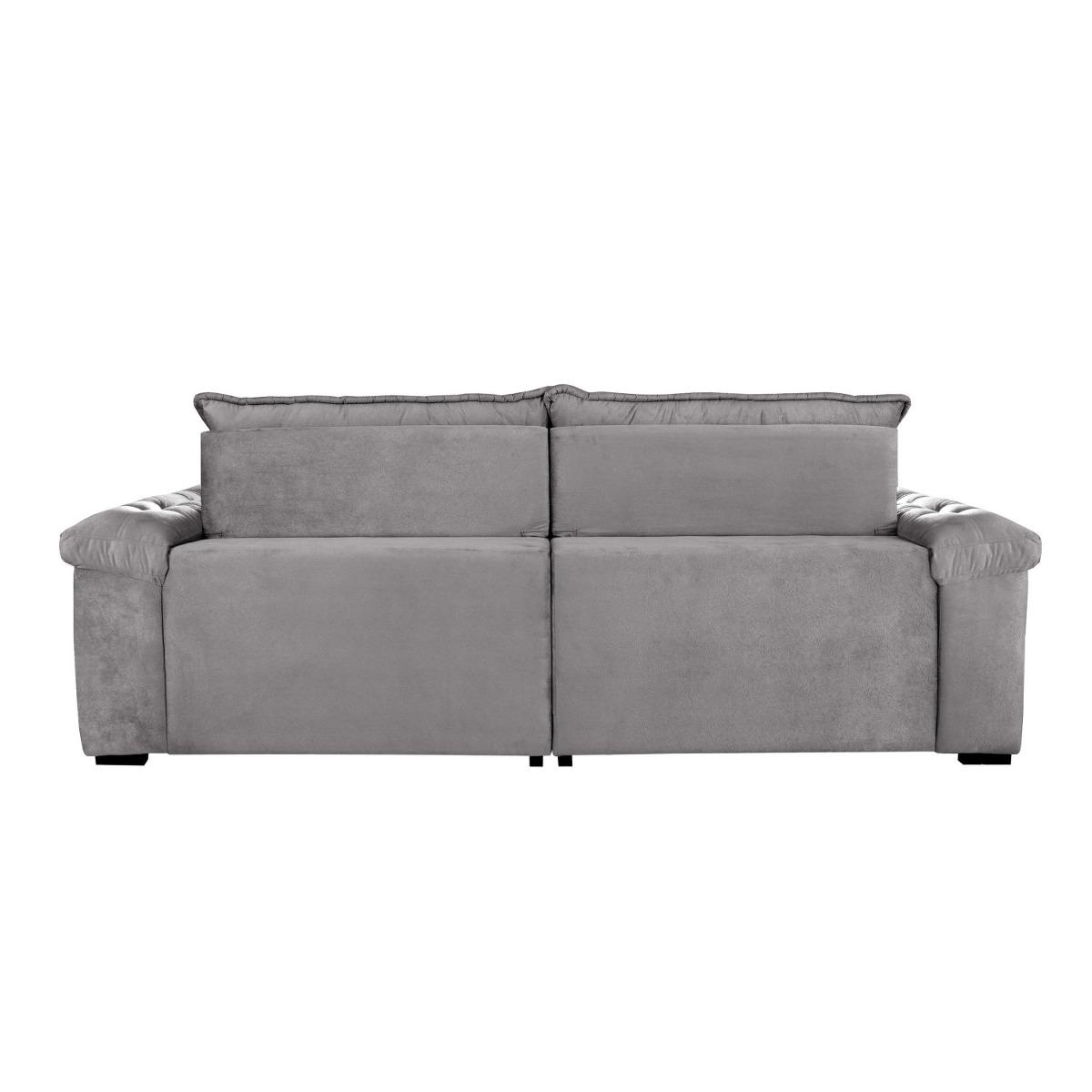 5f325cae2 sofá retrátil e reclinável 3 lugares itaguaí if. Carregando zoom.