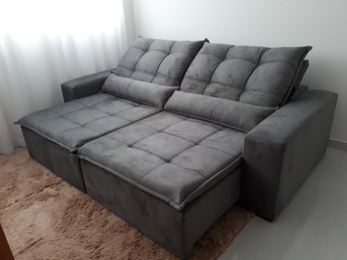 Sofa Retratil E Reclinavel 3.20 Mt Frete Gratis Sao Paulo ...