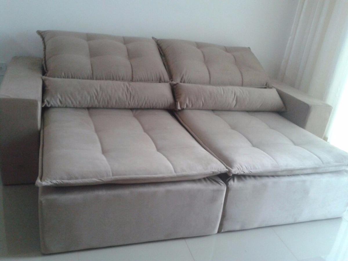 Sofa retratil e reclinavel r em mercado livre for Sofa que vira beliche onde comprar