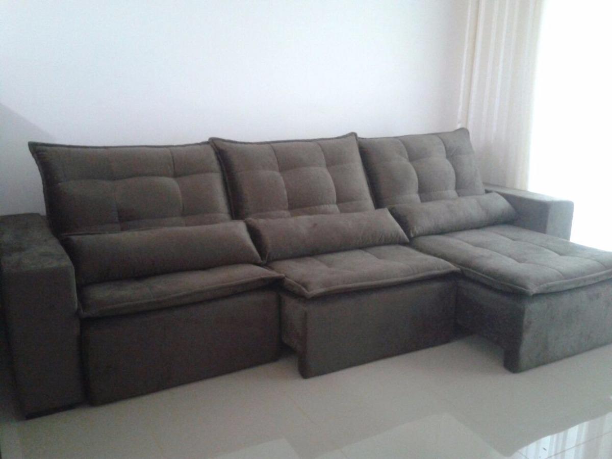 Sofa retratil e reclinavel r em mercado livre for Edit 03 sofa