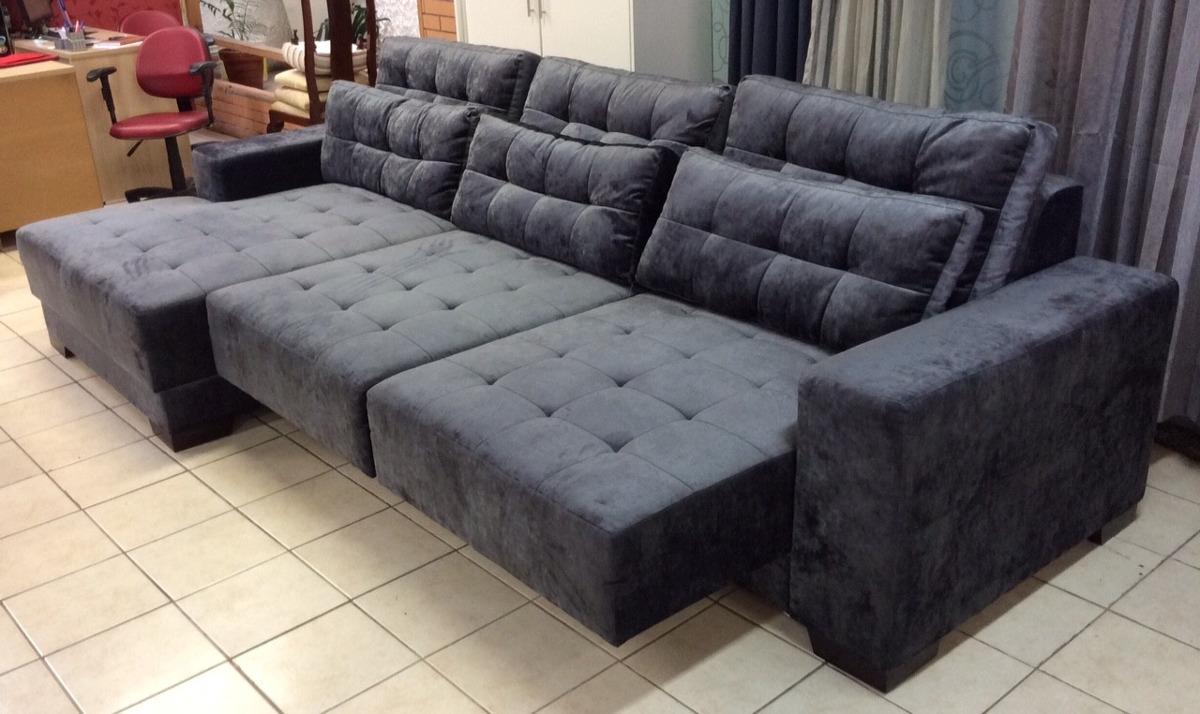 Sofa retratil p 6 pessoas novo aruba r em for Sofas de 2 metros