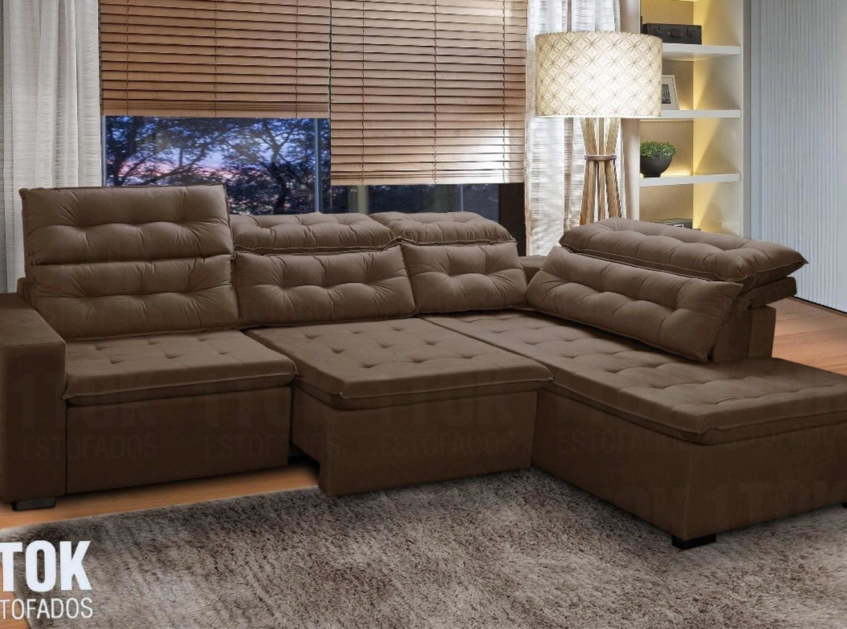 Sofa De Canto Retratil E Reclinavel Mercado Livre | www ...