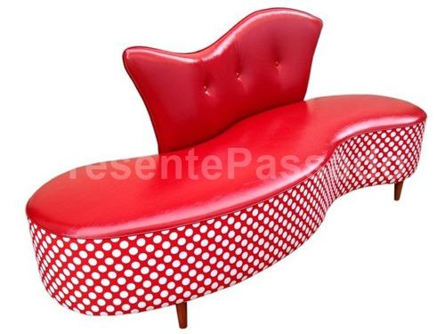 sofá retro - modelo feijão