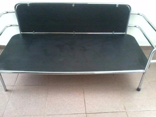 sofá sala aço móveis