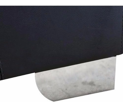 sofa seccional negro - iken