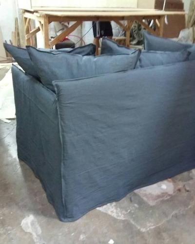 sofá sillon 2.30 funda ghost fantasma gervasoni tusor 4 cpos
