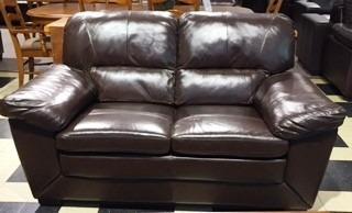 sofá sillón 2c.cuero legítimo cesarco importador directo