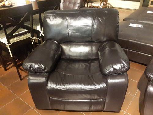 sofá sillón butaca cuero legítimo cesarco importador directo