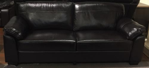 sofá sillón cuero legítimo 3c. cesarco importador directo