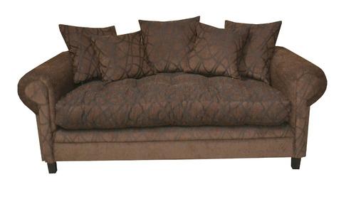 sofa sillon ingles 3 cuerpos pana cordoba goma e piero