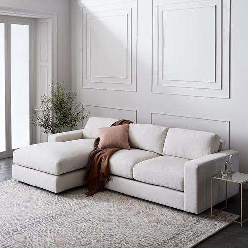 sofá sillón urbano 2 cuerpos tapizado antimancha 1.70 mt
