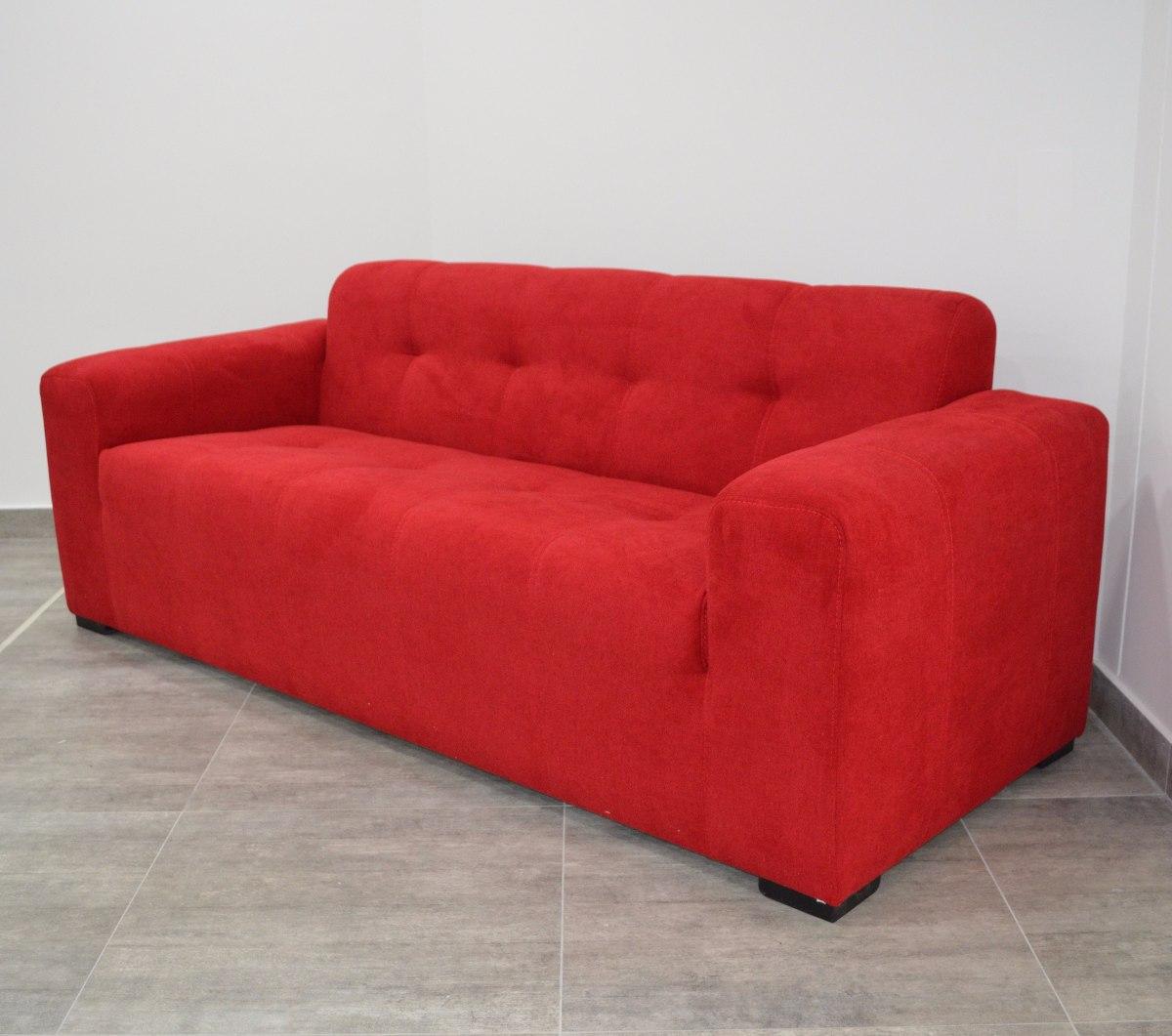 Sof Tapizado Moderno Y C Modo De 3 Puestos C Diz 950 000 En  # Muebles Caqueta Florencia