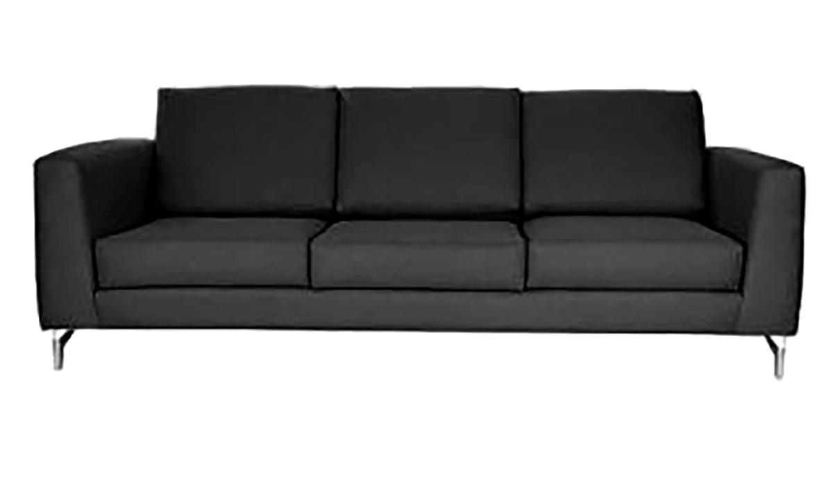 Sofa Tymi 3 Plazas Leonor Gris Oxford