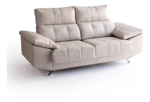sofa valencia 2 cuerpos reclinable la valenziana babymovil