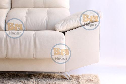 sofa valencia 3 cuerpos reclinable la valenziana babymovil