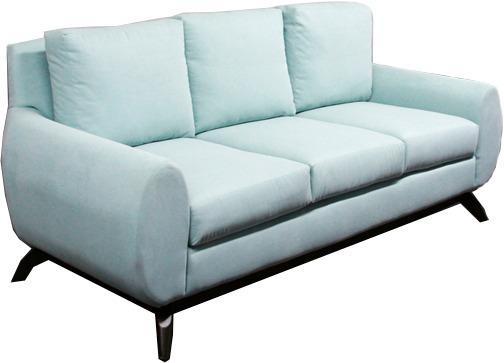 Sofa Verde Tela Poliester Sofadepot 6 770 00 En Mercado Libre