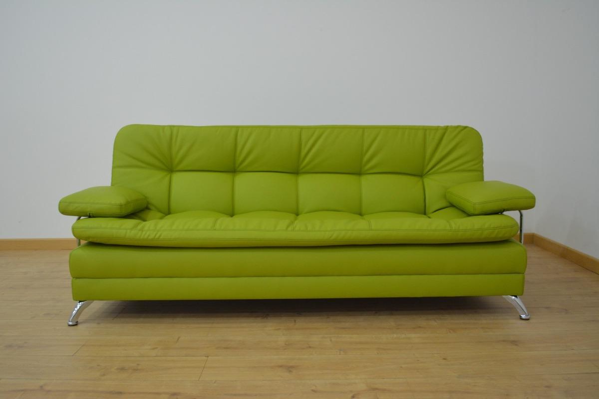 Sofacama 3 Pos Alaska Color Verde 799 900 En Mercado Libre # Lavado De Muebles Soacha