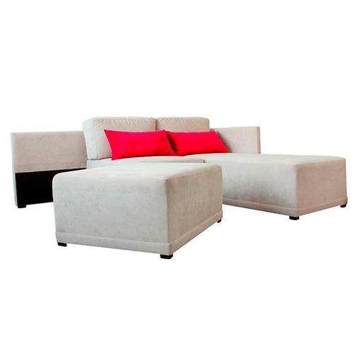 Sofacama sofa cama salas esquinera cloud mobydec for Sofa cama mercado libre