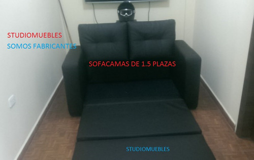 sofacamas - sofa cama somos fabricantes 2 personas