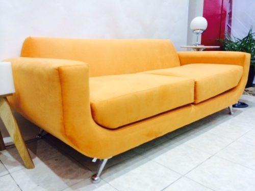 sofas sillones vintage s retro chenille o tela placa sof