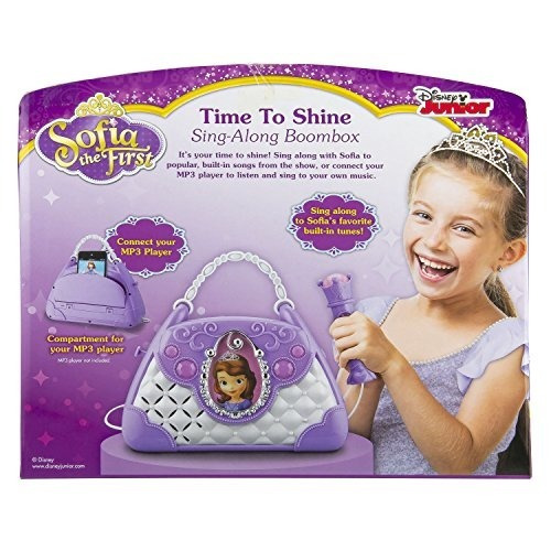 sofia the first disney junior time to shine sing along boomb