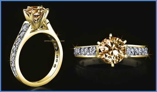 sofisticado anillo de compromiso oro blanco 18k envio gratis