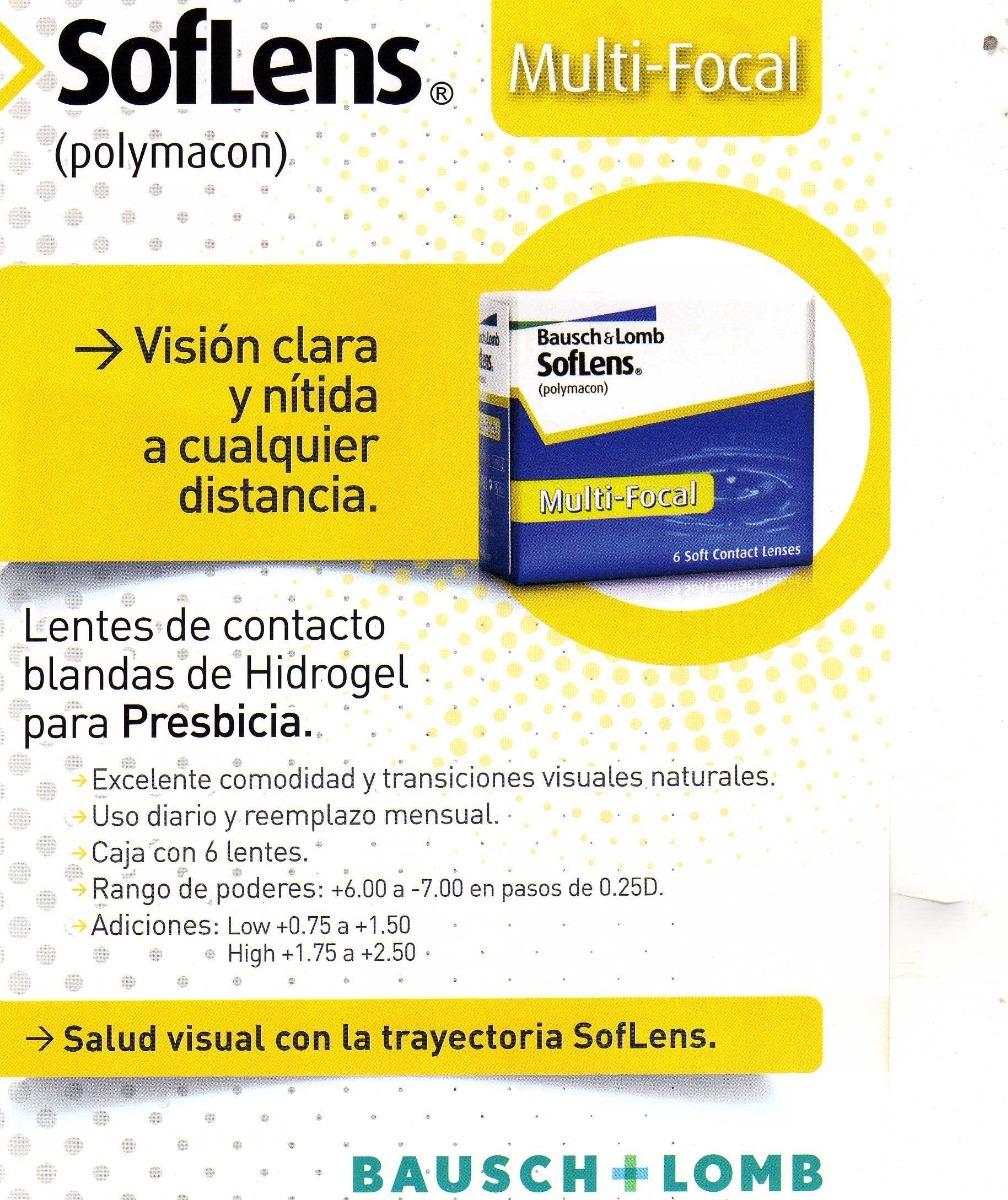 6d24ca2175 Soflens (neutras) 59 X 6 Unidades - $ 1.350,00 en Mercado Libre