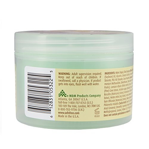 sofn'free n'pretty grohealthy crema de aceite de ol