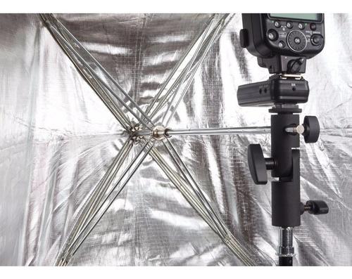soft box caja luz 60x90cm phottix plegable t/ sombrilla grid
