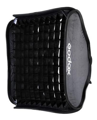 soft box difusor plegable godox 80x80 con grid