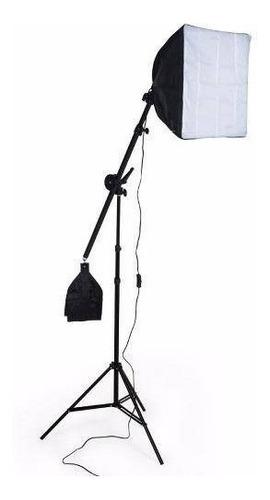 soft-box girafa  40x40cm completa c/ lampada nf 5500k