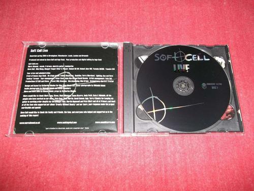soft cell - live cd doble importado ed 2003 mdisk