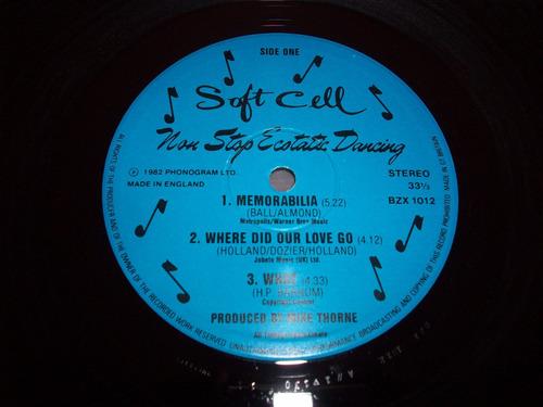soft cell non stop ecstatic dancing vinyl lp 1982 england