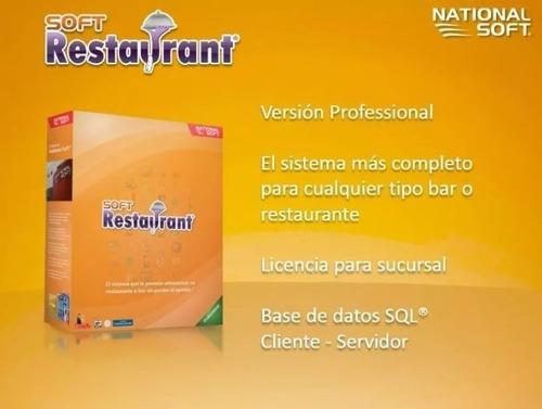 soft restaurant 8 profesional ilimitado restaurante bar