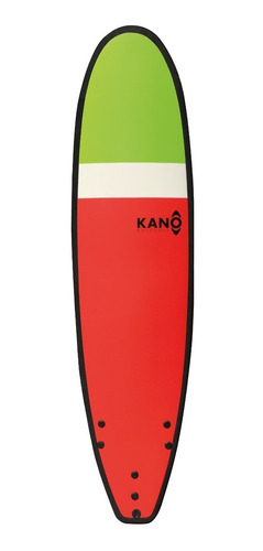 softboard kano / tabla de surf / 7 pies + leash y quillas