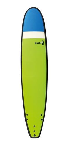softboard kano / tabla de surf / 9 pies + leash y quillas