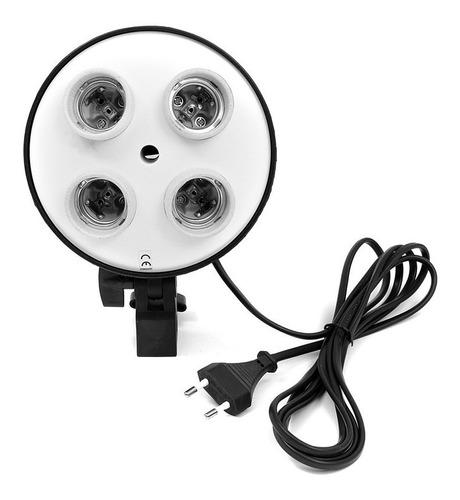 softbox luz continua fotografia video con atril 4 lamparas