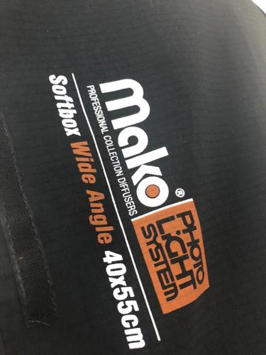 softbox mako tamanho 40x55cm